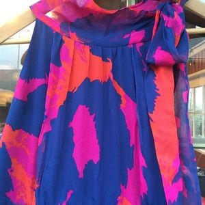 Dresses - DIANE von FURSTENBERG mult color floral silk dress